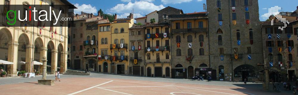 Arezzo - Place Piazza Grande square