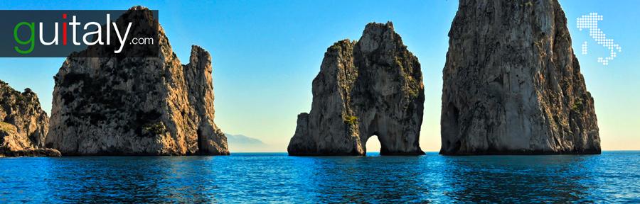 Capri | Faraglioni - pilier - stacks
