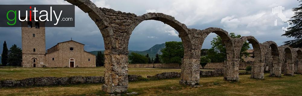 Castel San Vincenzo - Abbaye Monastery