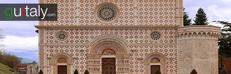 L'Aquila | Basilique de Santa Maria di Collemaggio - Basilica