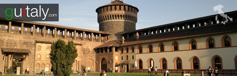 Milan | Château Sforzescco caste - tourism