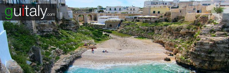 Polignano a Mare - beach - plage