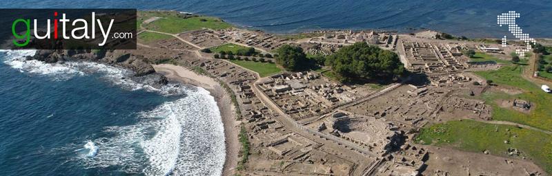 Pula - Ville ancienne de Nora Ancient Roman city