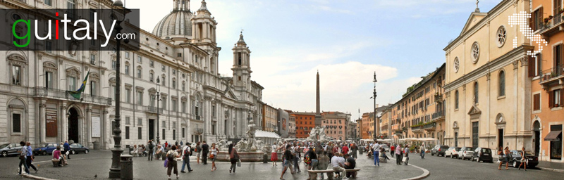 Rome - Place - Piazza Navona Square