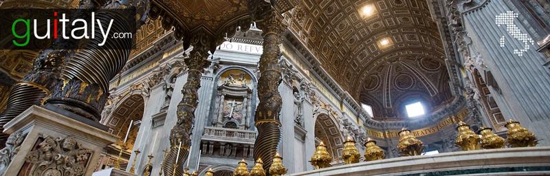 Rome | St-Peter - Saint-Pierre basilique - tourism