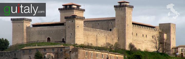 Spoleto - Forteresse Albornoziana Fortress - Spolete