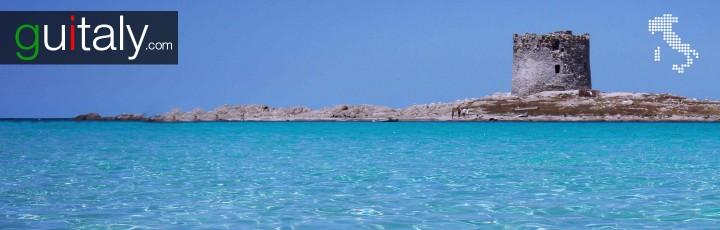 Sardinia - Tour - Plage - La Pelosa - Tower - Beach